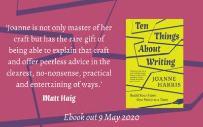 Joanne Harris's Ten Things About Writing